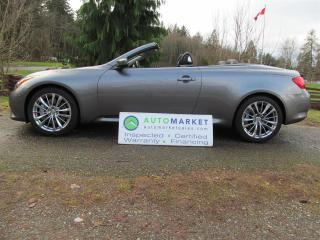 Used 2012 Infiniti G37 G37S Cab, Navi, Load, Insp, Warr for sale in Surrey, BC