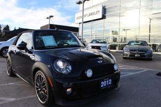 Used 2012 MINI John Cooper Works Convertible for sale in Langley, BC