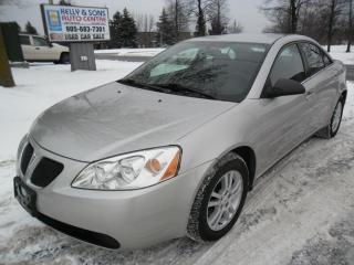 Used 2005 Pontiac G6 Clean NO ACCIDENTS + FREE 6 Month Warranty for sale in Ajax, ON