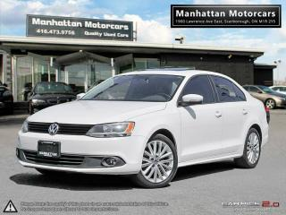 Used 2012 Volkswagen Jetta 2.5L SPORTLINE |LEATHER|ROOF|ALLOYS|NO ACCIDENT for sale in Scarborough, ON