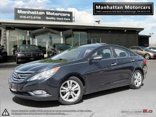Used 2011 Hyundai Sonata LIMITED AUTOMATIC |SUNROOF|LEATHER|BLUETOOTH for sale in Scarborough, ON