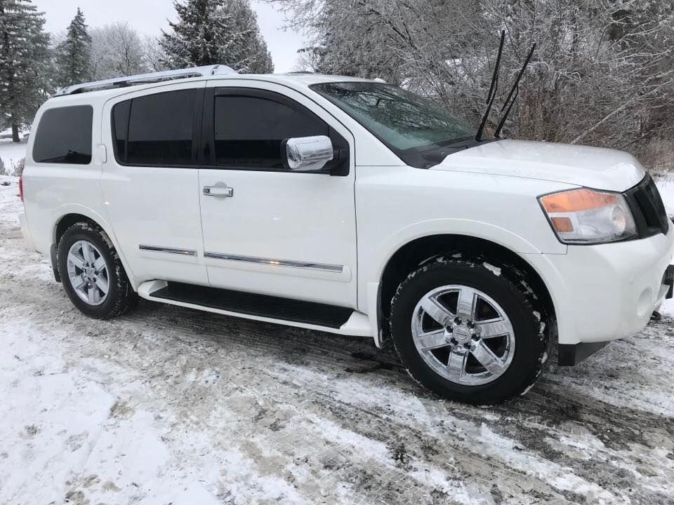 used 2010 nissan armada platinum edition for sale in bloomingdale ontario. Black Bedroom Furniture Sets. Home Design Ideas