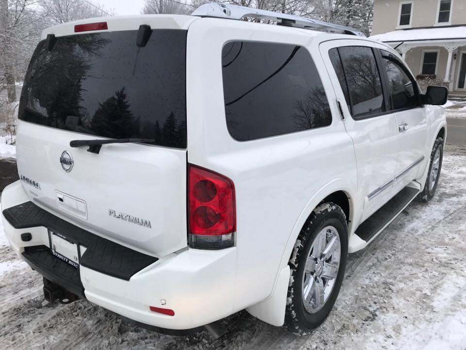 used 2010 nissan armada platinum edition for sale in. Black Bedroom Furniture Sets. Home Design Ideas