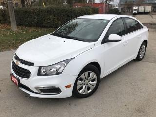 Used 2016 Chevrolet Cruze LT-AUTO-BACK UP CAM for sale in Brampton, ON