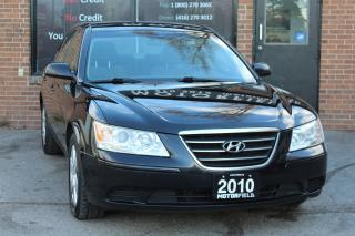 Used 2010 Hyundai Sonata GL *ONE OWNER, NO ACCIDENTS, CERTIFIED* for sale in Scarborough, ON