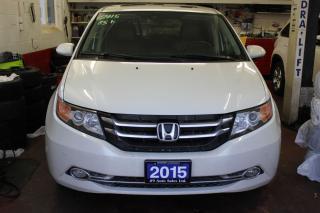 Used 2015 Honda Odyssey Touring w/RES & Navi for sale in Brampton, ON