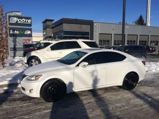 Used 2010 Lexus IS 250 Base for sale in Mascouche, QC