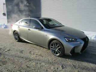 Used 2017 Lexus IS 300 Berline 4 portes traction intégrale for sale in Ste-Foy, QC