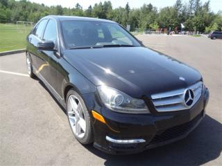 Used 2012 Mercedes-Benz C-Class 4matic Awd for sale in St-Lambert-de-Lauzon, QC