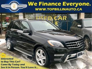 Used 2015 Mercedes-Benz ML-Class ML350 BlueTEC 4MATIC, AMG pkg, Navi for sale in Concord, ON