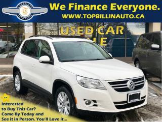 Used 2010 Volkswagen Tiguan 2.0 T 4Motion, Navigation, Pano Sunroof for sale in Concord, ON