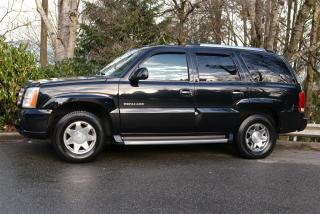 Used 2003 Cadillac Escalade 7 PASSENGER AWD for sale in Vancouver, BC