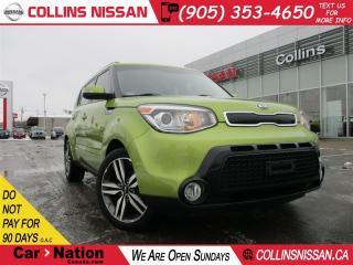 Used 2015 Kia Soul SX  | LEATHER | PUSH BUTTON | WARRANTY for sale in St Catharines, ON
