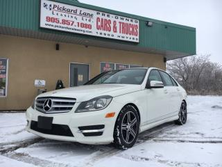 Used 2012 Mercedes-Benz C-Class $175.80 BI WEEKLY! $ 0 DOWN! CERTIFIED! for sale in Bolton, ON
