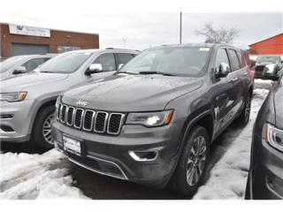 New 2018 Jeep Grand Cherokee Limited|REMOTE START|4X4|NAV|ANDROID AUTO for sale in Concord, ON