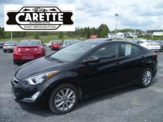 Used 2016 Hyundai Elantra Sport T.ouvrant for sale in East broughton, QC