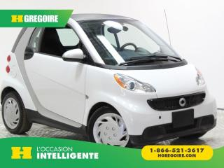 Used 2015 Smart fortwo PURE A/C BANC CH for sale in St-Léonard, QC
