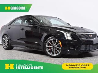 Used 2016 Cadillac ATS V 4DR SDN for sale in St-Léonard, QC