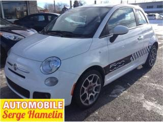 Used 2012 Fiat 500 Sport Mags T.équipé for sale in Chateauguay, QC