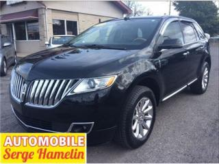 Used 2013 Lincoln MKX Gar. Prol. 2020 for sale in Châteauguay, QC