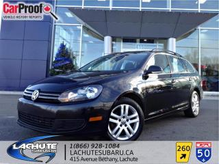 Used 2010 Volkswagen Golf WAGON T.OUVRANT PANO for sale in Lachute, QC