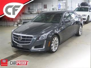 Used 2014 Cadillac CTS Traction Intégrale for sale in Lévis, QC