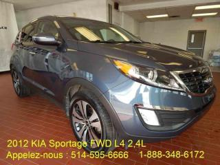 Used 2012 Kia Sportage for sale in Montréal, QC