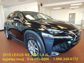 Used 2015 Lexus NX 200t Navigation/235hp for sale in Montréal, QC