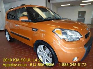 Used 2010 Kia Soul Toitouvrant/grp for sale in Montréal, QC