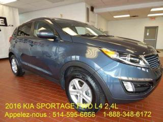 Used 2016 Kia Sportage for sale in Montréal, QC