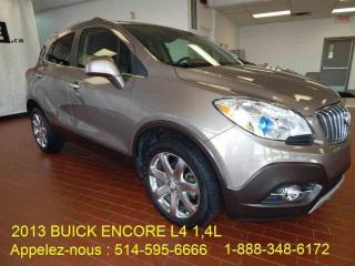 Used 2013 Buick Encore CUIR for sale in Montréal, QC