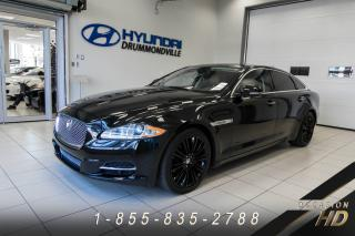 Used 2013 Jaguar XJL XJ XJL 3.0 AWD PORTFOLIO SUPERCHARGED for sale in Drummondville, QC