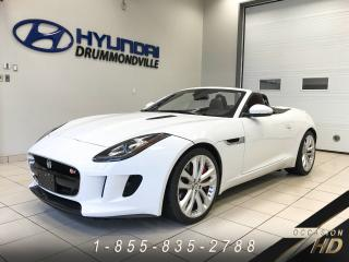 Used 2014 Jaguar F-Type S + CABRIO + PERFORMANCE + GROUPE VISION for sale in Drummondville, QC