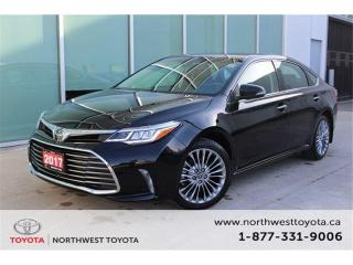 Used 2017 Toyota Avalon Touring $263.39 BIWEEKLY | $0 DOWN for sale in Brampton, ON