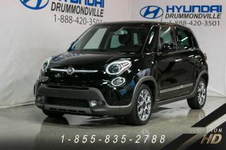 Used 2014 Fiat 500 L TOIT PANO + CUIR 2 TON + BLUETOOTH + SIÈ for sale in Drummondville, QC