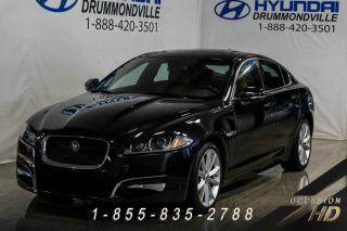 Used 2013 Jaguar XF SUPERCHARGED + SYSTEME DE SON MERIDIAN + for sale in Drummondville, QC