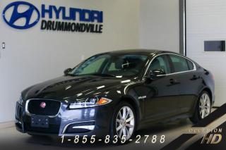 Used 2014 Jaguar XF SUPERCHARGED + AWD + JAMAIS ACCIDENTÉ + for sale in Drummondville, QC