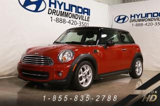 Used 2013 MINI Cooper ENSEMBLE STYLE + INDISPENSABLE + TOIT PA for sale in Drummondville, QC