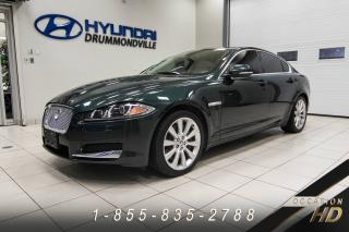 Used 2013 Jaguar XF V6 + 3.0 SUPERCHARGED +PREMIUM + TRAC. I for sale in Drummondville, QC