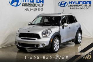 Used 2014 MINI Cooper Countryman S ALL4 + IMPECCABLE + TOIT PANO + MAGS 1 for sale in Drummondville, QC