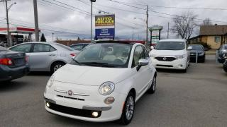 Used 2012 Fiat 500 Décapotable 2 portes Lounge for sale in Mirabel, QC