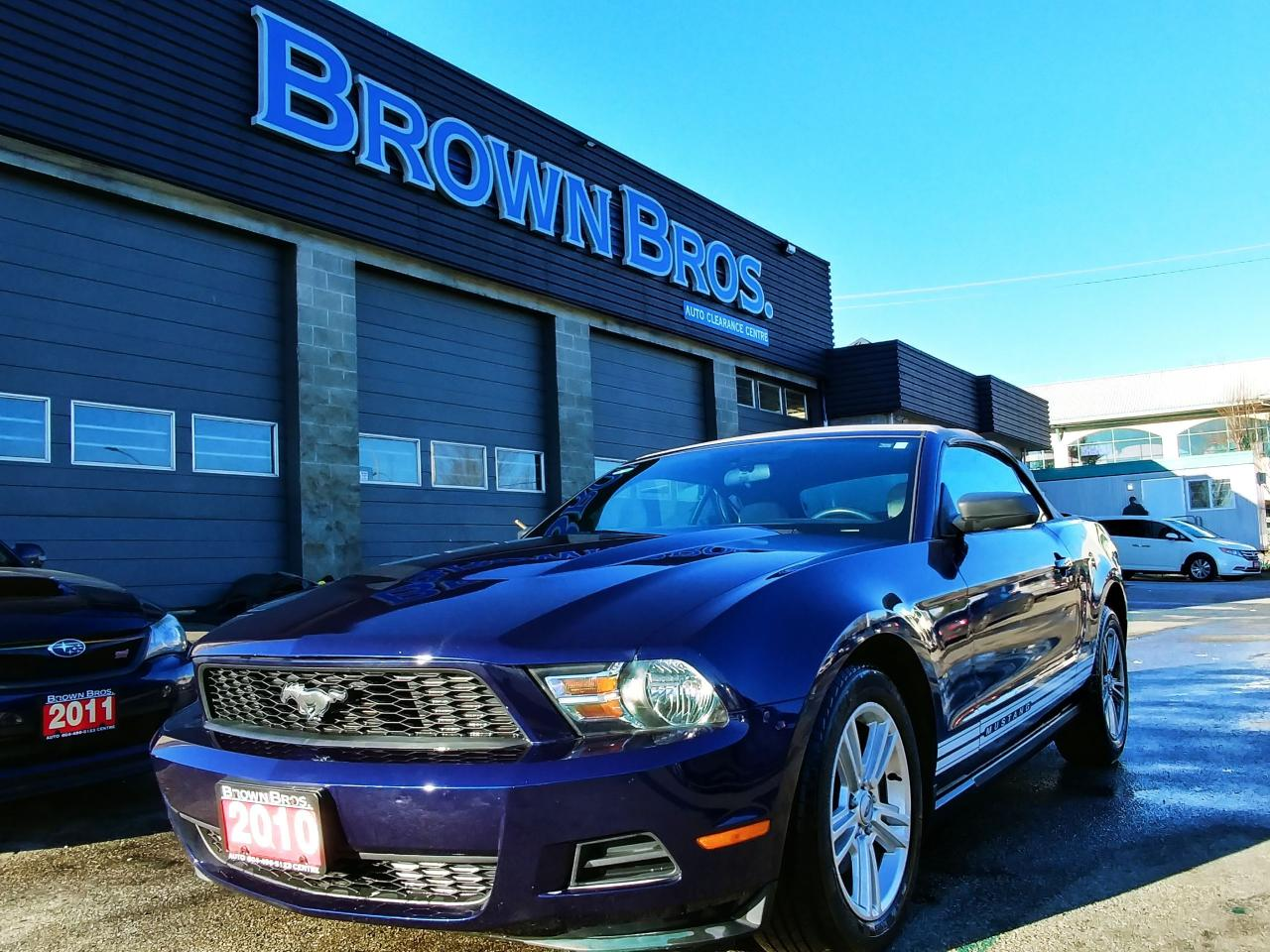 Used 2010 Ford Mustang V6, Auto, Giddy up! for Sale in Surrey ...