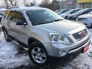 Used 2008 GMC Acadia SLE / Auto / Alloys / 8-Passenger / Bluetooth for sale in Scarborough, ON