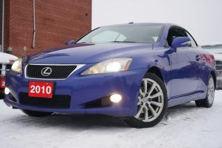 Used 2010 Lexus IS 250 Convertible,Navi,Camera,Bluetooth for sale in North York, ON