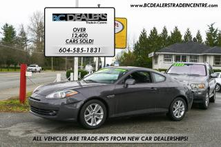 Used 2008 Hyundai Tiburon GS w/Sport Pkg, Only 106,000 km's, T-Belt Replaced for sale in Surrey, BC