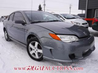 Used 2007 Saturn ION  2DR COUPE for sale in Calgary, AB