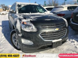 Used 2017 Chevrolet Equinox LT | NAV | ROOF | CAM | HEATED SEATS for sale in London, ON