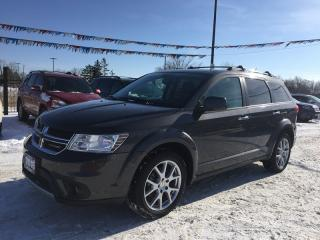 Used 2015 Dodge JOURNEY R/T * AWD * LEATHER * REAR CAM * HEATED SEATS * 7 PASS for sale in London, ON