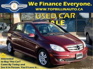Used 2008 Mercedes-Benz B-Class Turbo, Navi, Panoramic Sunroof for sale in Concord, ON