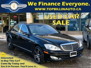 Used 2008 Mercedes-Benz S 550 4Matic Night Vision, Fully Loaded 139K for sale in Concord, ON